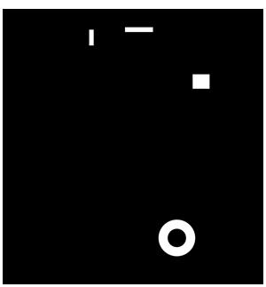 Pictogramme poubelle barrée