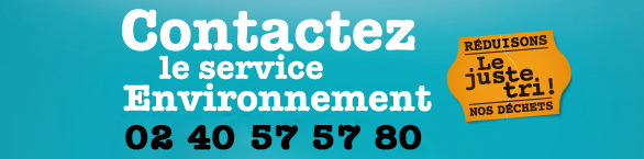 Contact service environnement