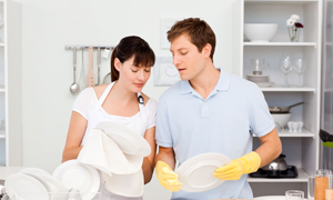 SPANC Couple vaisselle