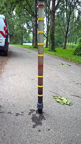 Mesure niveau de boue